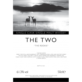 The TWO - The Rookie ~ Single Cask